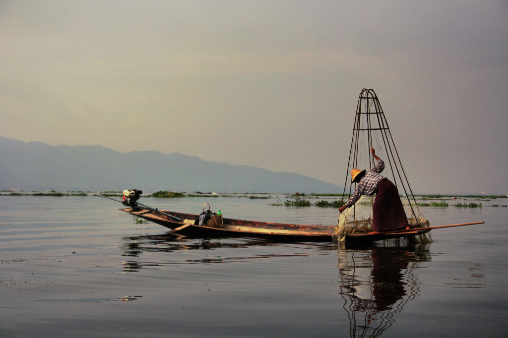 Jezioro Inle