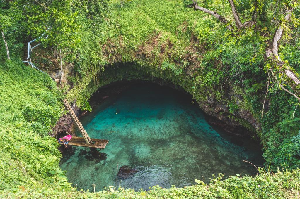 To Sua - naturalny basen na Samoa